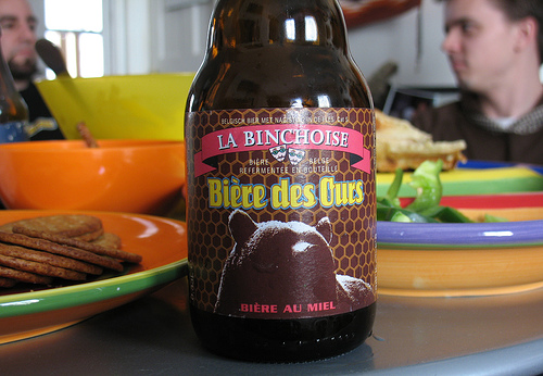 Biere des Ours, cerveza con miel en Binche