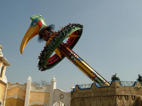 Parque de Atracciones Bellewaerde en Ypres