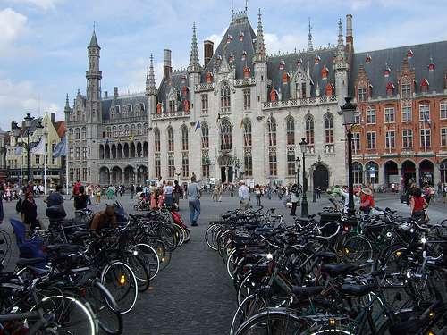 Bicicletas en Brujas