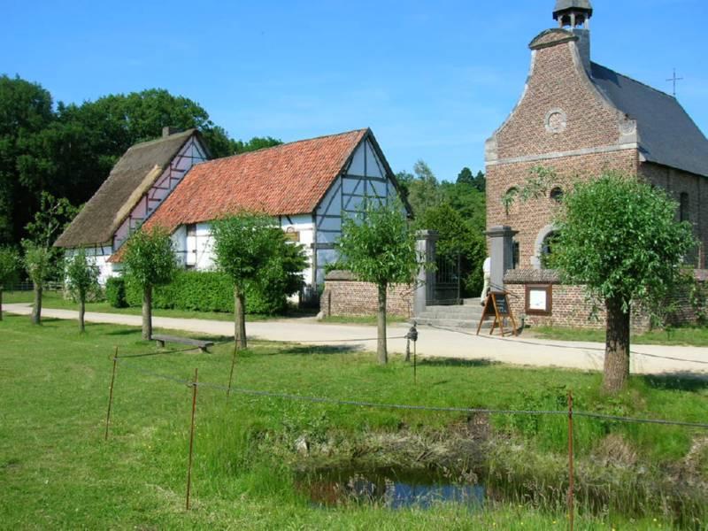 Museo Bokrijk en Genk, Belgica
