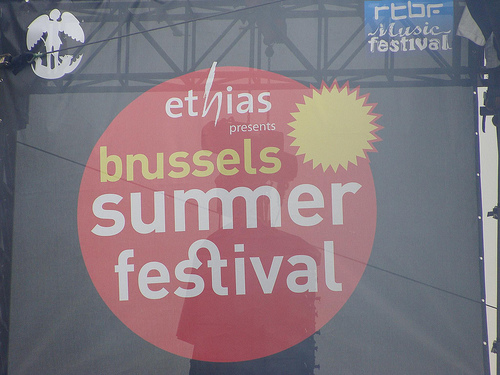 Brussels Summer Festival, verano en Bruselas