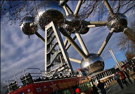 Bus turístico en Bruselas