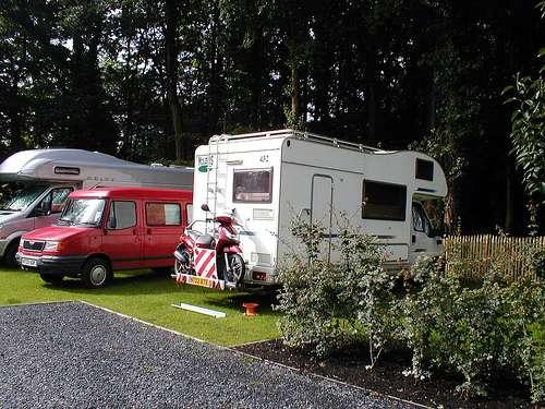Zona de campings en Bélgica