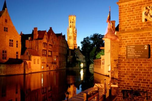 El canal Dijver, la seducción de Brujas
