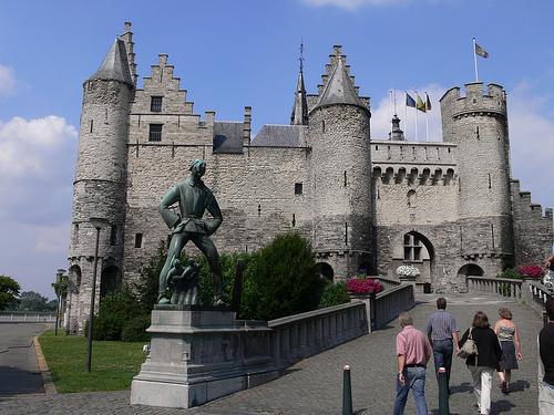 El Castillo de Het Steen en Amberes