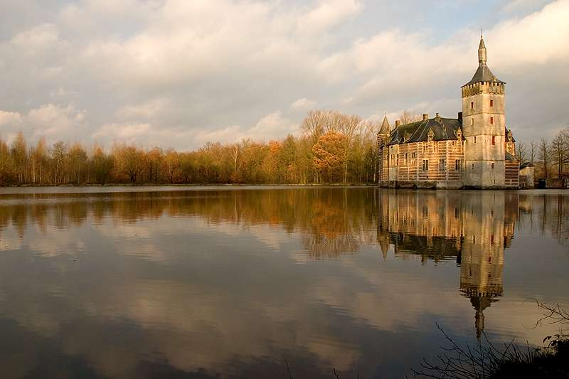 El castillo encantado de Horst en Aarschot