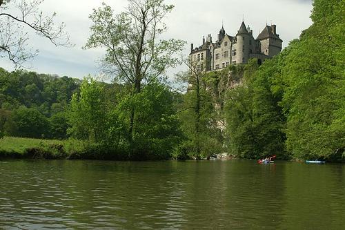 El Castillo de Walzin en Dinant
