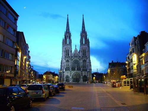 La Catedral de San Pedro y San Pablo de Ostende