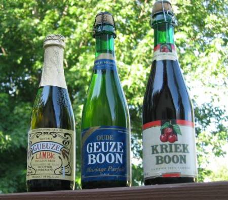 Cervezas lambicas belgas