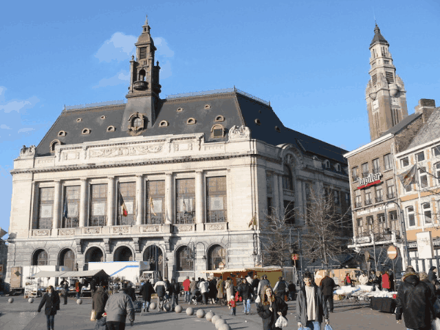 Breve historia de Charleroi