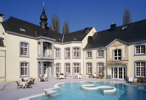 Chateau des Thermes, tratamientos de spa