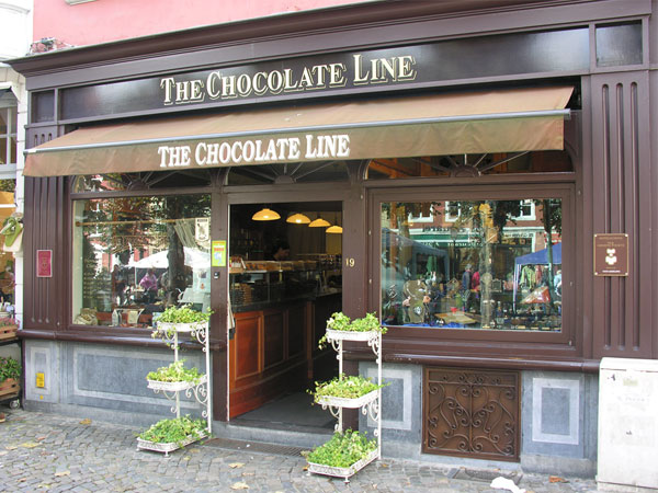 Chocolate Line, el mayor placer de Brujas