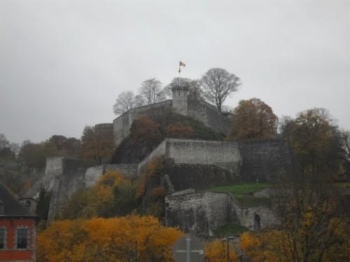 Un día en Namur, visitando la Ciudadela