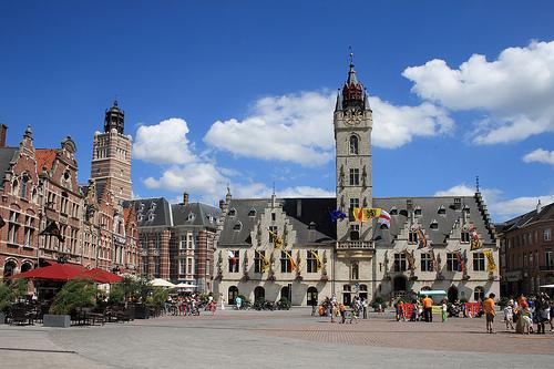 Dendermonde, bella excursión desde Bruselas