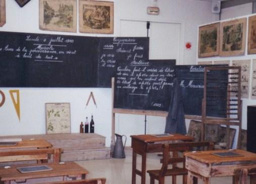 La Ecole au Pluriel, la escuela de nuestros abuelos
