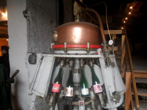 Embotelladora en Cantillon