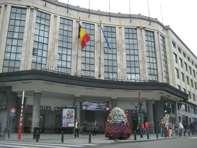 Estación Central de Bruselas