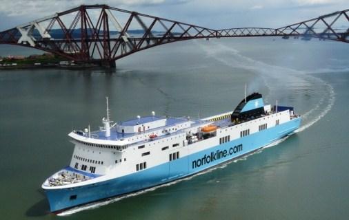 Viaja en ferry desde Escocia hasta Bélgica
