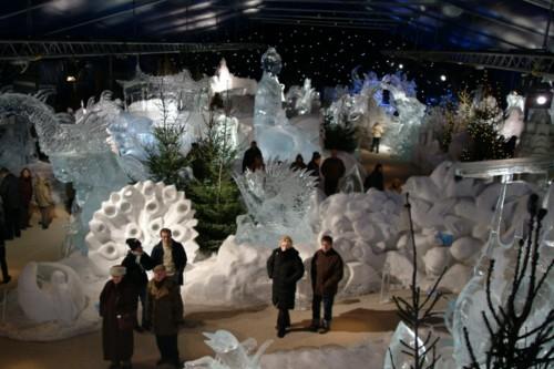 Esculturas de Hielo y Nieve 2010 en Brujas