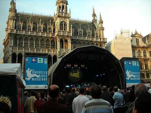 Concierto de Jazz en la Grand Place de Bruselas