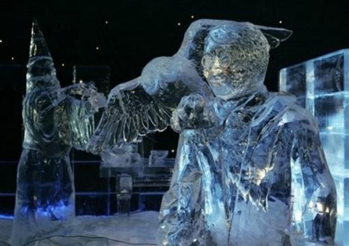 Festival de Esculturas de Hielo y Nieve en Brujas