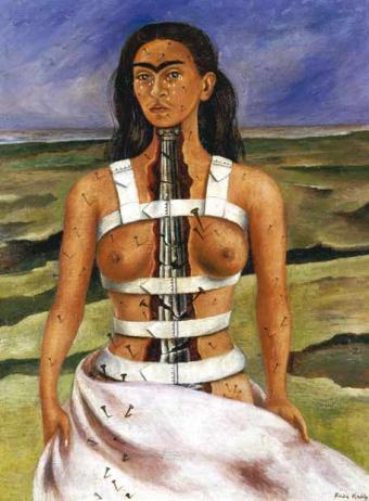 Exposición de Frida Kahlo en Bruselas
