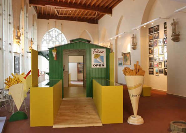 Frietmuseum en Brujas, museo de la patata frita