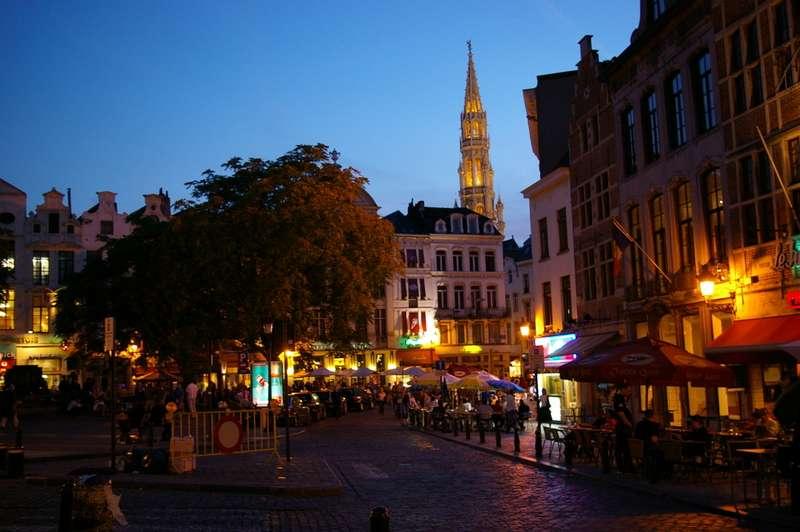 La Galeria Saint Hubert en Bruselas