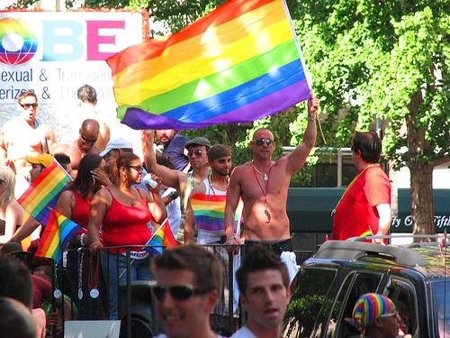 Dia del orgullo gay en Bruselas