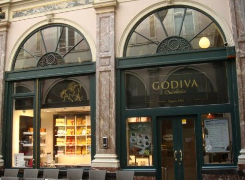 Tienda Godiva