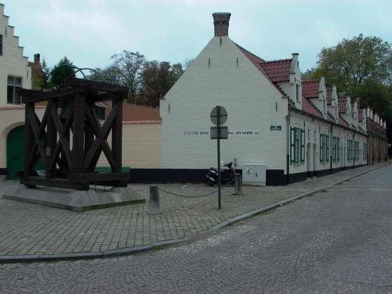 Godshuizen y la Iglesia de Jerusalen en Brujas