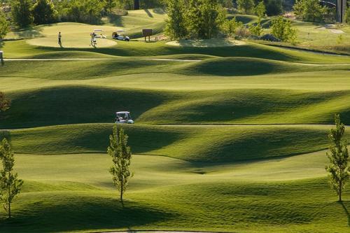 Jugar al golf en Bélgica
