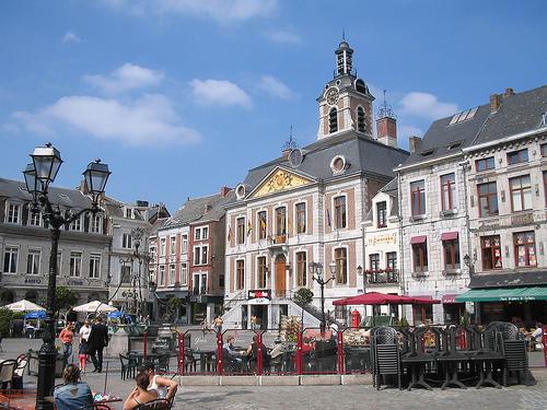La Grand Place de Huy