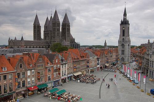 La Grand Place de Tournai