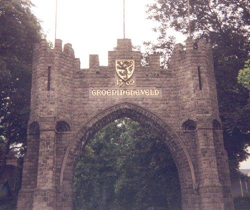 Groeningheveld, lugar exacto de la batalla