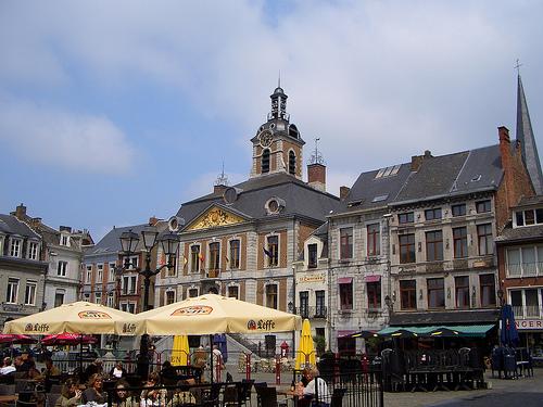 El mercadillo Farmer's Market de Huy