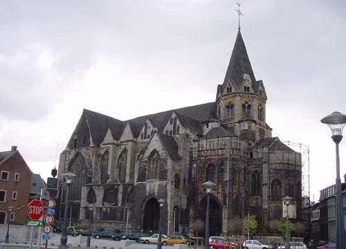 La Iglesia de la Santa Cruz en Lieja