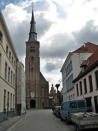 La Iglesia de Santa Ana en Brujas