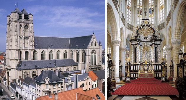 Iglesia de Santiago en Amberes
