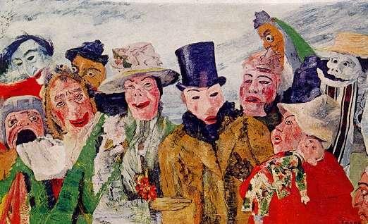 James Ensor, el padre del expresionismo belga