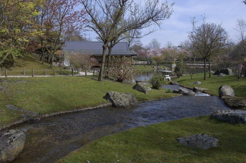 Hasselt, el Jardín Japonés y el Museo Bokrijk