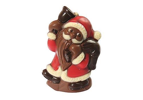 Navidad de chocolate en Bélgica