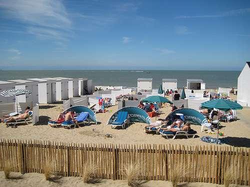 playa en Knokke Heist