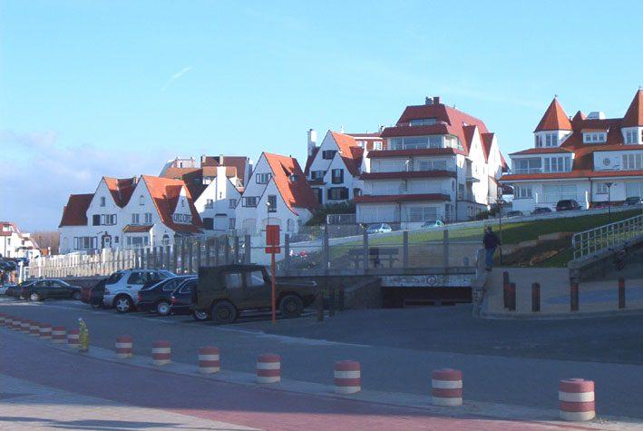 Knokke, un casino entre jardines