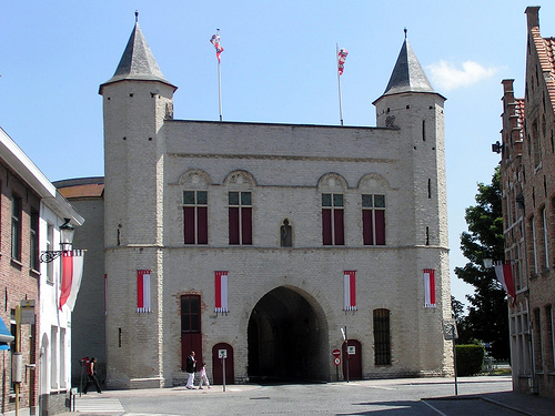 La Kruispoort, Puerta de la Santa Cruz en Brujas