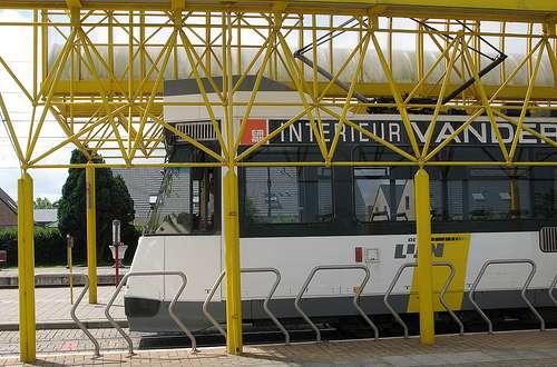 El Kusttram, un tranvía por la costa de Flandes