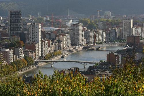La Ciudadela de Lieja, una postal en las alturas