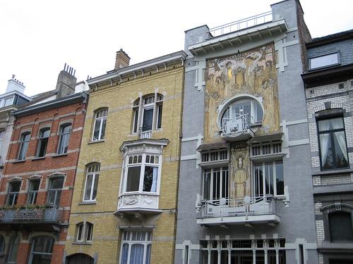 La arquitectura art nouveau en bruselas Art nouveau arquitectura