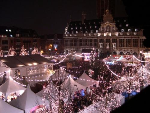Mercado navideño de Lovaina, uno de sus mayores atractivos