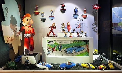 El MOOF, segundo museo del comic en Bruselas